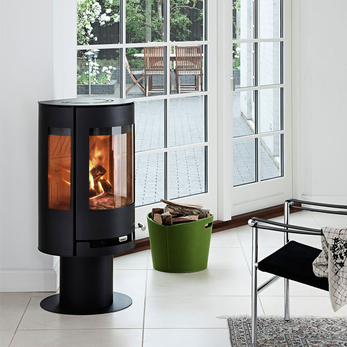smoke control stoves wood burners chiswell fireplaces. Black Bedroom Furniture Sets. Home Design Ideas